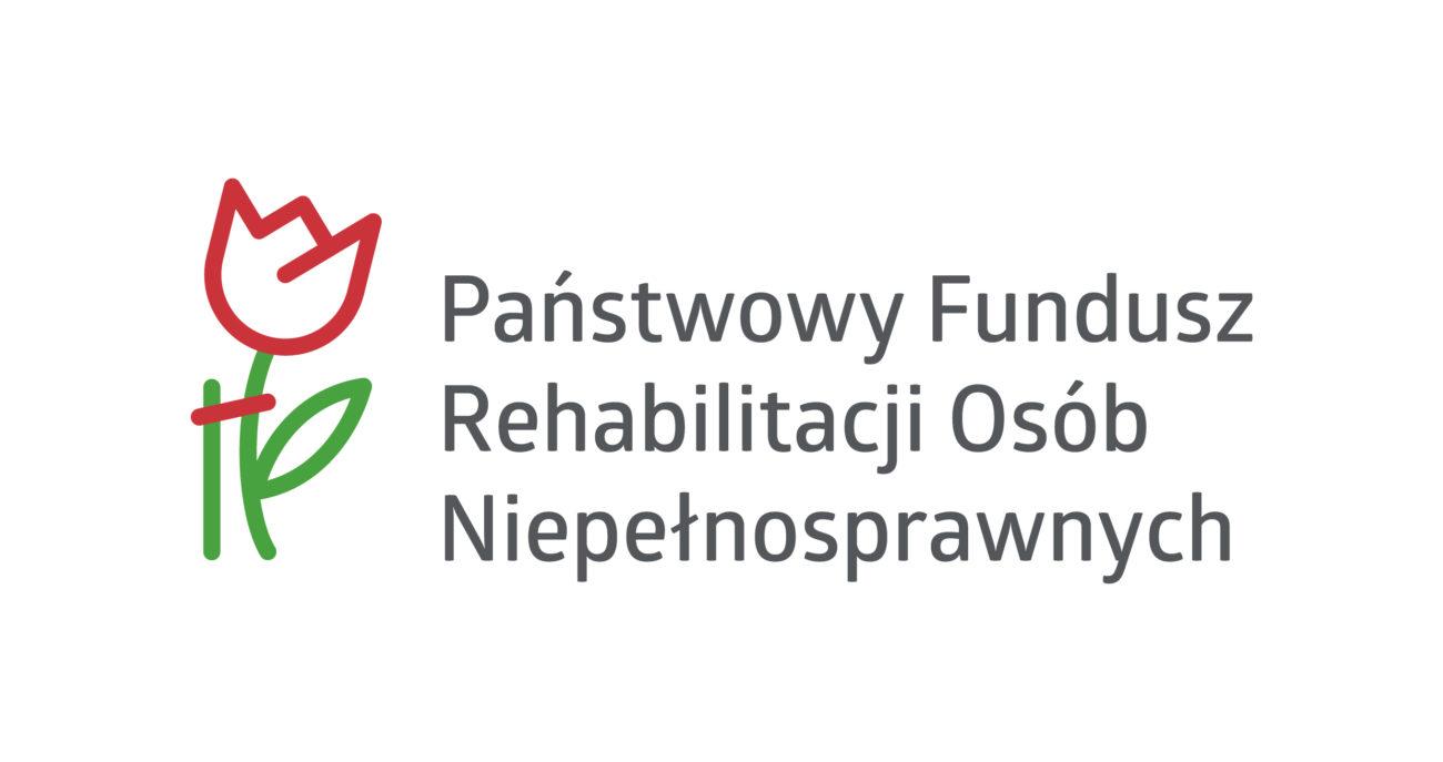 Projekt realizowany jest dzięki dofinansowaniu z Państwowego Funduszu Rehabilitacji Osób Niepełnosprawnych.